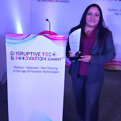 BCT wins the 'Disruptive Tech and Innovation Awards'