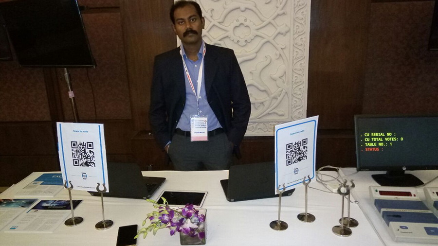 Bahwan CyberTek part of the Election Commission of India Conference